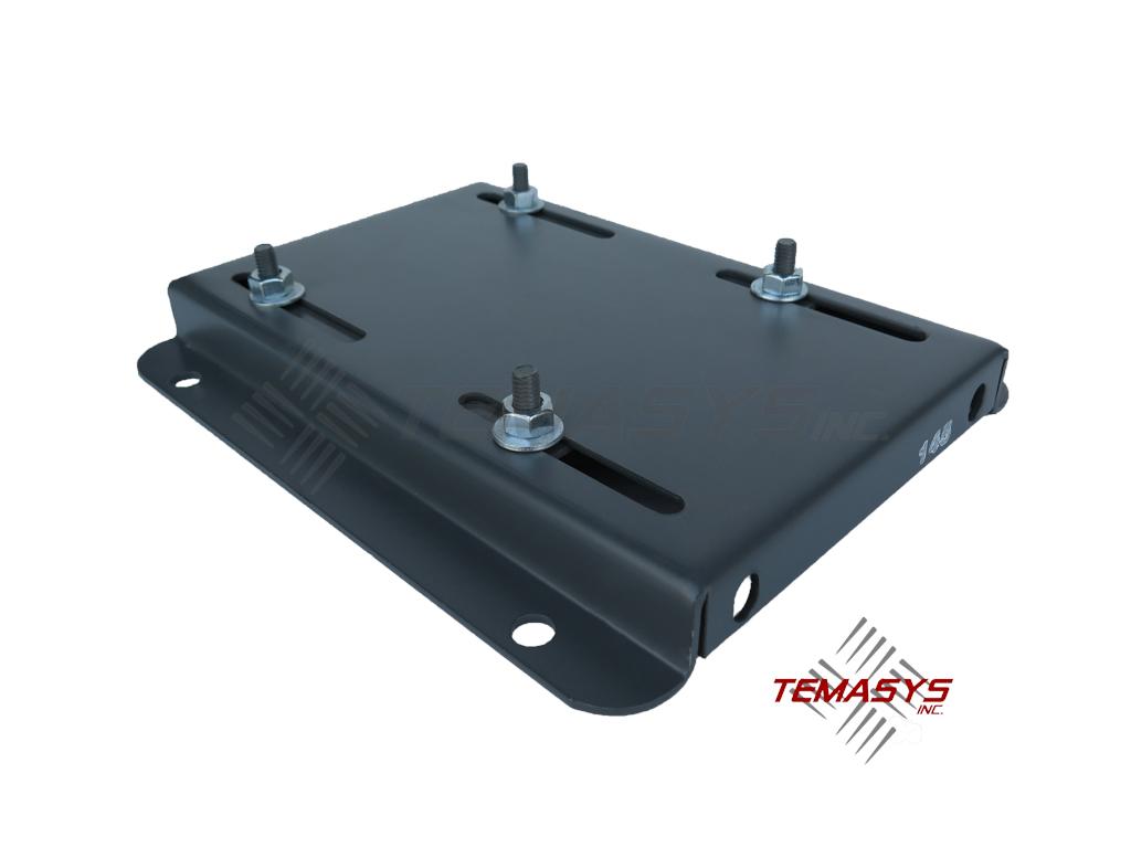 145t Frame Single Adjusting Motor Base Plate Temasys Inc