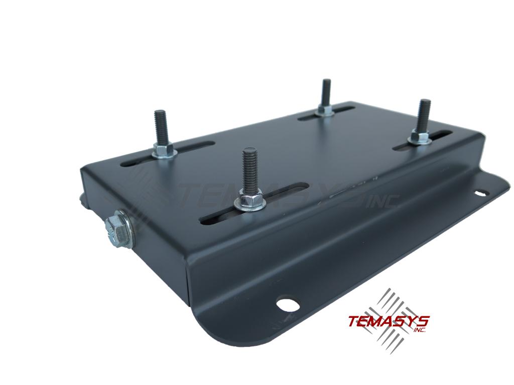 182t Frame Single Adjusting Motor Base Plate Temasys Inc