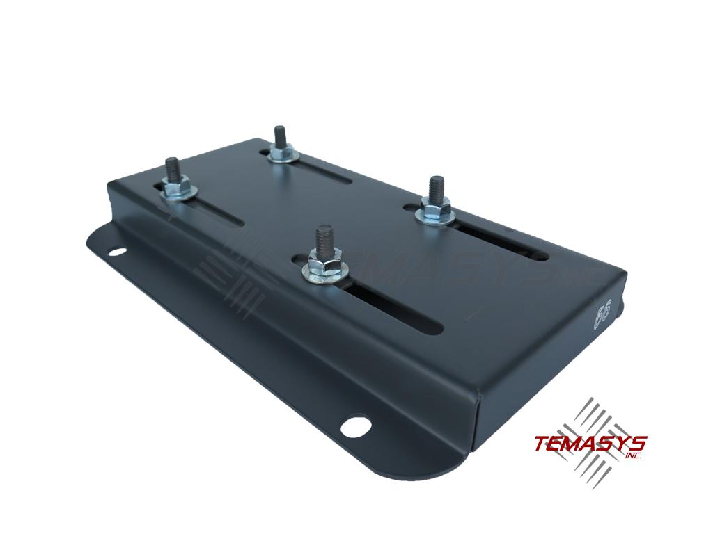 56 Frame Single Adjusting Motor Base Plate Temasys Inc